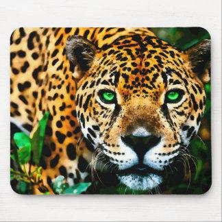 アクリルのジャガーの野性生物の芸術 マウスパッド