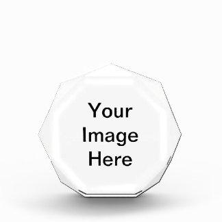 アクリルの八角形賞 表彰盾