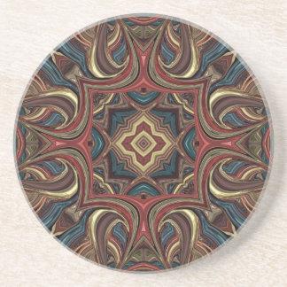 アクリルの視野の曼荼羅のコースター コースター