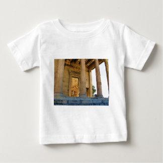 アクロポリスおよびパルテノン-アテネ ベビーTシャツ