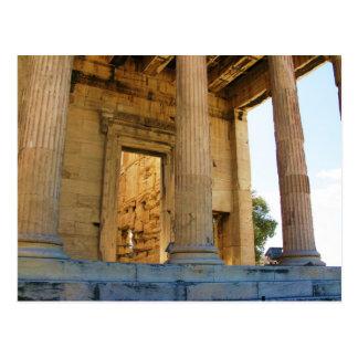 アクロポリスおよびパルテノン-アテネ ポストカード