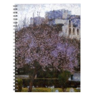アクロポリスに道を示す木 ノートブック