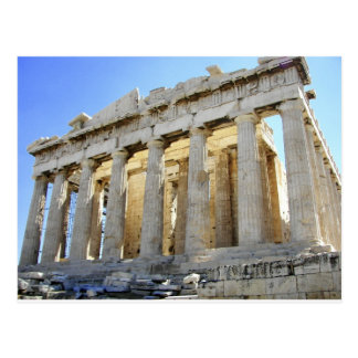 アクロポリスのパルテノン ポストカード
