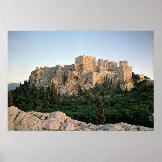 アクロポリスの全景 ポスター