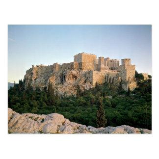 アクロポリスの全景 ポストカード