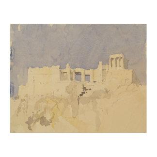 アクロポリスアテネ1994年 ウッドウォールアート