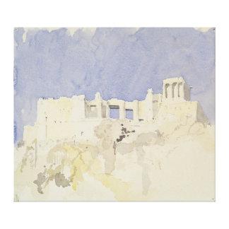 アクロポリスアテネ1994年 キャンバスプリント