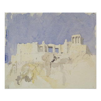 アクロポリスアテネ1994年 ポスター