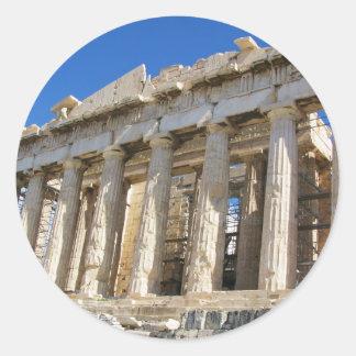 アクロポリス447のパルテノン紀元前に ラウンドシール