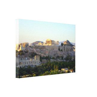 アクロポリス-アテネ キャンバスプリント