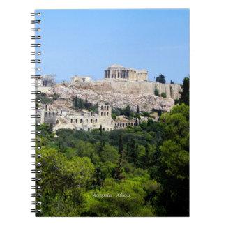 アクロポリス-アテネ ノートブック