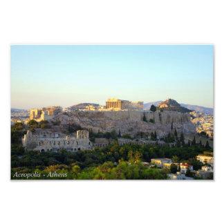 アクロポリス-アテネ フォトプリント