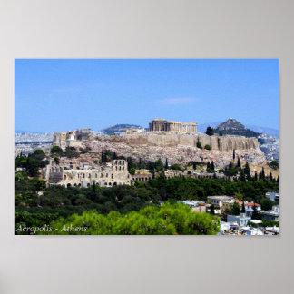 アクロポリス-アテネ ポスター