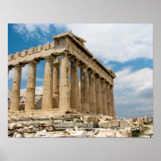 アクロポリス、アテネ-ポスター ポスター