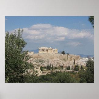 アクロポリス(ギリシャ) ポスター