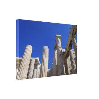アクロポリス- Propylaea キャンバスプリント