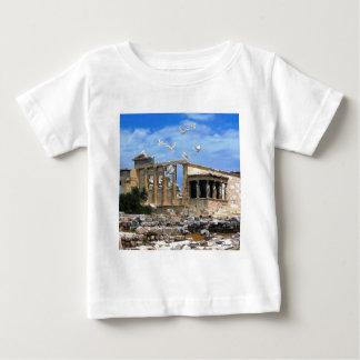 アクロポリスErechtheumアテネギリシャ ベビーTシャツ