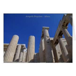 アクロポリスPropylaea -アテネ カード