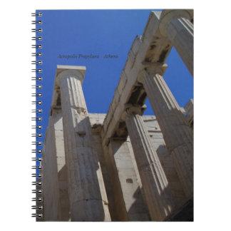 アクロポリスPropylaea -アテネ ノートブック