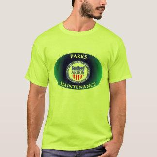 アクロンオハイオ州は維持のワイシャツを駐車します Tシャツ