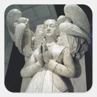 アグネスSorel 1450-59年の墓 スクエアシール