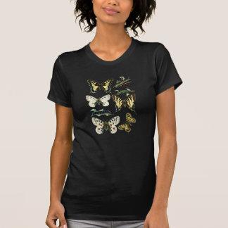 アゲハチョウの幼虫、蝶およびガ Tシャツ