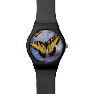 アゲハチョウの腕時計の飛行 腕時計
