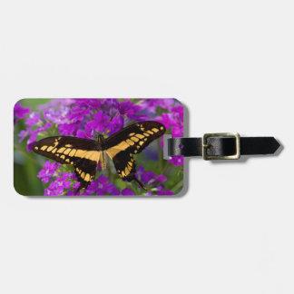 アゲハチョウの蝶の上 ラゲッジタグ