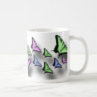 アゲハチョウの蝶デジタル芸術 コーヒーマグカップ