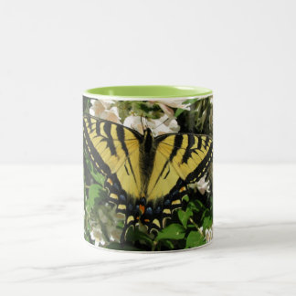 アゲハチョウの蝶マグ ツートーンマグカップ