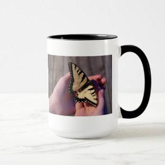 アゲハチョウの蝶マグ マグカップ