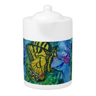 アゲハチョウの蝶水彩画
