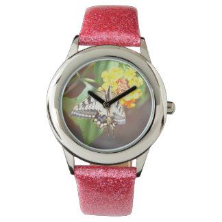 アゲハチョウの蝶腕時計 ウォッチ