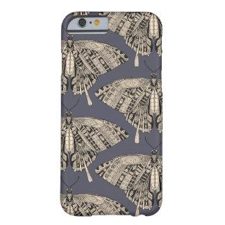 アゲハチョウの蝶薄暗がりの黒 BARELY THERE iPhone 6 ケース