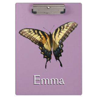 アゲハチョウの蝶III美しくカラフルな写真 クリップボード