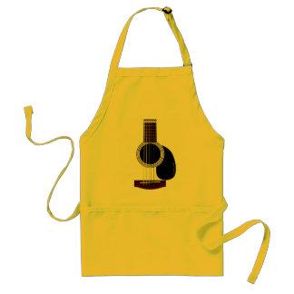 アコースティックギターのエプロン スタンダードエプロン