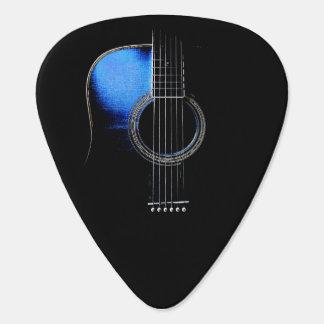 アコースティックギターのデザインのPlectrumのバージョン2 ギターピック