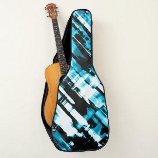 アコースティックギターのバッグの熱い暗藍色のデジタルアートG253 ギターケース