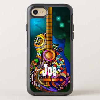 アコースティックギターのヒッピーのオッターボックスのAppleのiPhone オッターボックスシンメトリーiPhone 7 ケース