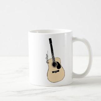 アコースティックギターのマグ コーヒーマグカップ