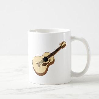 アコースティックギターの芸術 コーヒーマグカップ