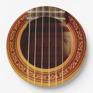アコースティックギターの詳細 ペーパープレート