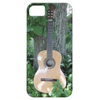 アコースティックギターの電話箱 iPhone SE/5/5s ケース