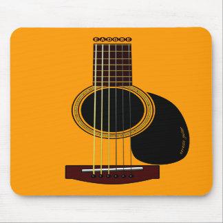 アコースティックギターのmousepad マウスパッド