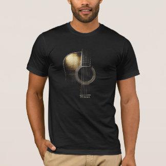アコースティックギターのTシャツ(記述を見て下さい) Tシャツ