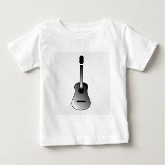 アコースティックギターはシンプルな色です ベビーTシャツ