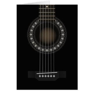 アコースティックギターカード カード