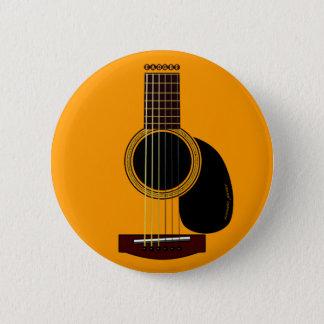 アコースティックギターボタン 缶バッジ