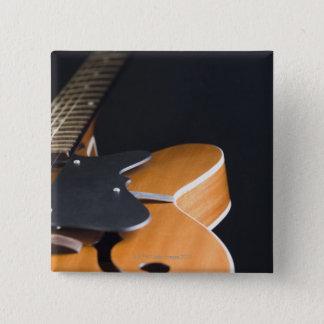 アコースティックギター3 5.1CM 正方形バッジ