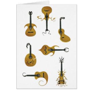 アコースティックギター カード